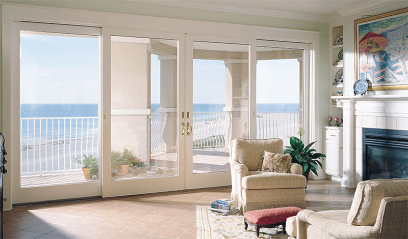 Living Room Patio Doors